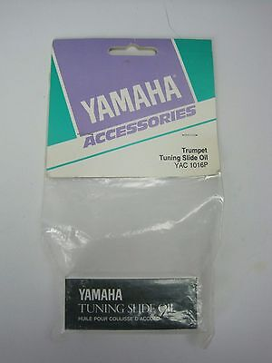 Yamaha YAC1016P Trumpet Tuning Slide Oil 8ml - NOS