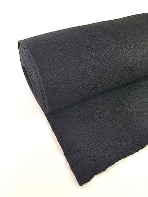 Black 3ft x 4.5ft High Quality Speaker Box Cabinet Carpet Trunk Liner Cover New