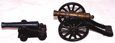 Set of 2 PennCraft Miniature Cannons