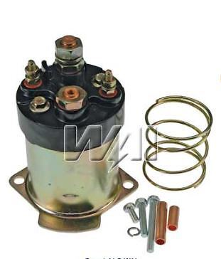 1114587 PG260 Starter motor solenoid 12v 3 terminal replaces DELCO 10475646