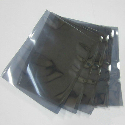 "100 Pcs 6"" x 8"" ESD Anti Static Shielding Bags Open Top hard drive 3.5"""