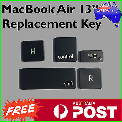 """Genuine Apple MacBook Air 13"""" 2012-15 Replacement Keys  - Postage from Melbourne"""