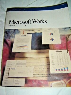 Microsoft Works reference