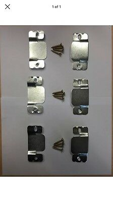 Metal Clips for Sofa and Furniture Interlocking Connecting Clips x 3 Pair