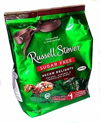 Russell Stover Sugar Free Pecan Delights 1Lb Bag   Free Shipping   Usa Seller 