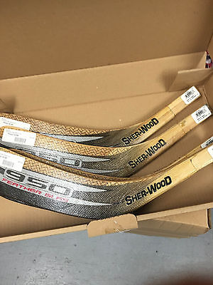 hockey replacement blades 6 prepackeged assorted Jr wood