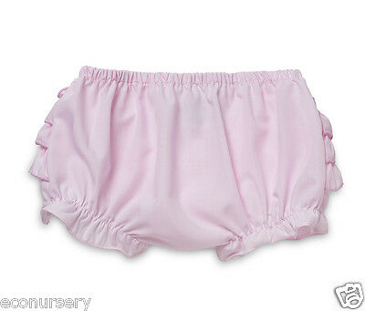 Aurora Royal Baby Girls Pink Cotton Blend Ruffle Baby Knickers