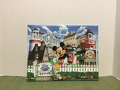 Disney Art Vacation Club Gicl'EE Print 15th Anniversary Memders Only