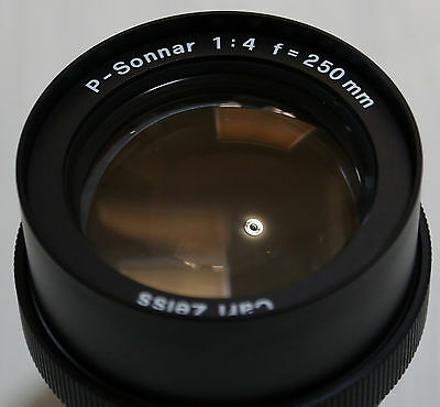 Hasselblad Carl Zeiss P-Sonnar 1:4 250mm Lens For PCP 80 Slide Projector