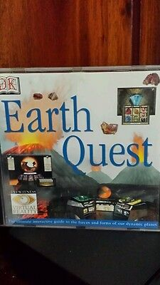 Earth Quest PC CD ROM