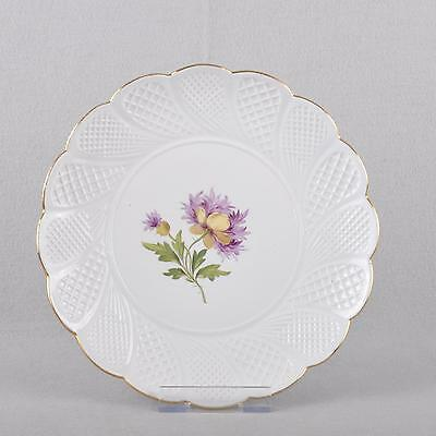 Meissen Flower 1 - Spring Poppy, Fan Plate Serving Ceremonial Plate, Knauf Time