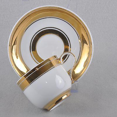 Meissen Moccha cup / Espresso cup, lots of Gold, Knauf time First Quality