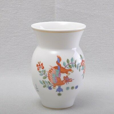 Meissen Chinese Dragon And Stork Vase / Flower Vase 1St Choice