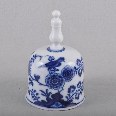 Meissen Bird model Table Bell Bell, Knauf time cobalt blue Underglaze painting