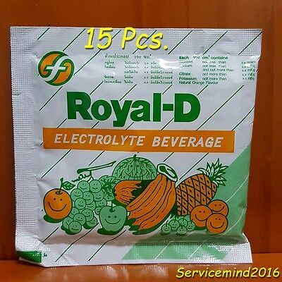Royal - D Electrolyte Beverage for Athletes Fitness Sport Rehydrate & Replace
