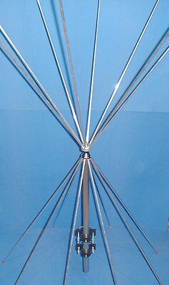 Double Discone Scanner Base Station Antenna / Aerial