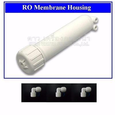 REVERSE OSMOSIS MEMBRANE HOUSING FITS ALL STANDARD RO System Water Filter 3 Elbo
