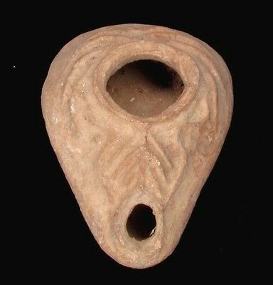 Byzantine terra-cotta oil lamp