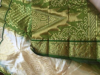 Indian Kanchipuram / Banarasi Sari / Georgette / Fancy / Katan Silk Saree 8969