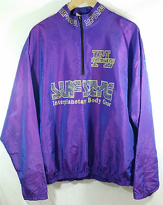 VTG Surf Style Pullover Windbreaker Jacket One Size Purple FL Panama City Beach