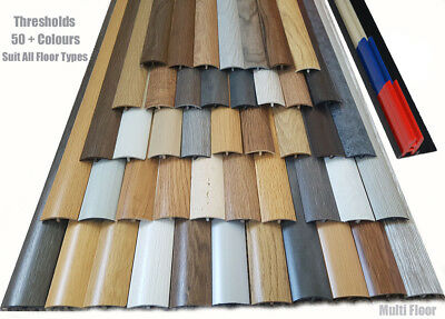 Quality Range of Laminated Transition strip thresholds 38mm 90cm Multi Purpose