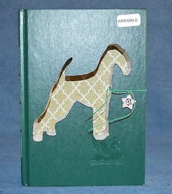 Airedale Upcycled Book - 005