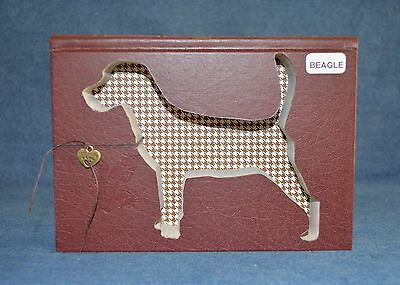 Beagle Upcycled Book - 005
