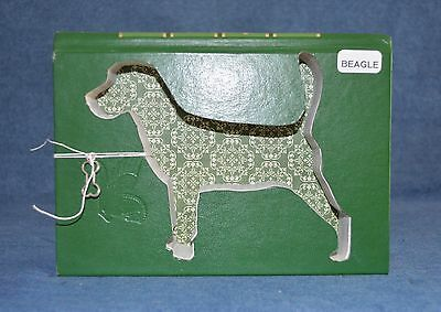 Beagle Upcycled Book - 006