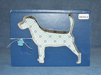 Beagle Upcycled Book - 007