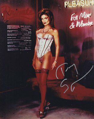 BABYLON 5 CAPT LOCHLEY TRACY SCOGGINS # 1 hand signed