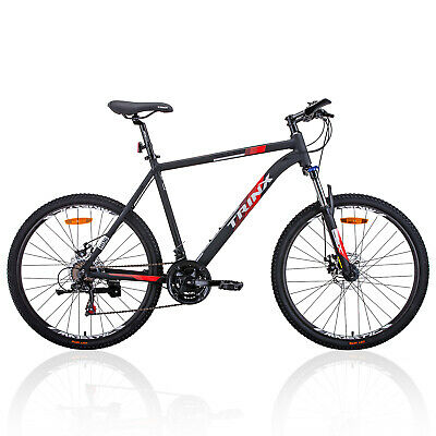 "Trinx MTB Mens Mountain Bike 26 inch Shimano Gear 21-Speed 17"" 19"" M136 Bicycle"