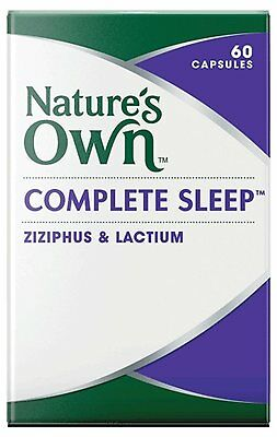 NATURE'S OWN Complete Sleep 60 Capsules INSOMNIA AND SLEEP MANAGEMENT