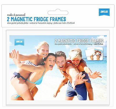 12 x Shot2Go Magnetic Photo Fridge Frames (Holds a 6x4 inch photo)