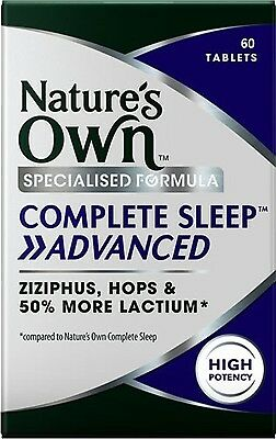 Nature's Own Complete Sleep    Advanced 60 Tablets Insomnia & Sleep Management