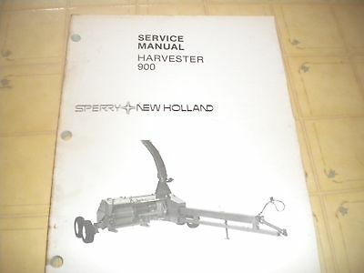 New Holland   900 Harvester service manual