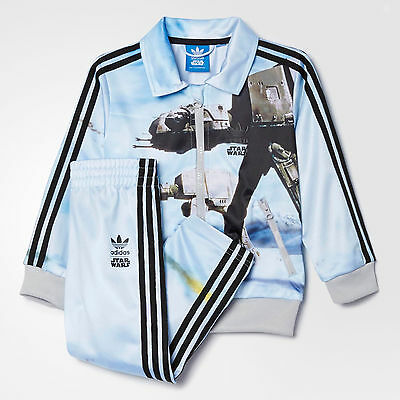 NWT Adidas Originals x Star Wars AT-AT Firebird Track Suit Set Infant Toddler