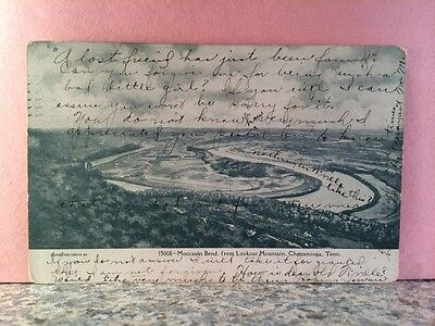 Postcard Moccasin Bend, Lookout Mountain, Tennessee