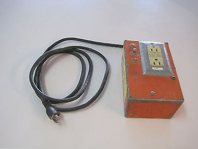 Lorien Protek II Drilling Tool Interrupter for parts or repairs.