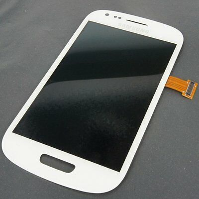 New Full LCD Display Screen Touch Digitizer Samsung Galaxy S3 Mini I8190 White