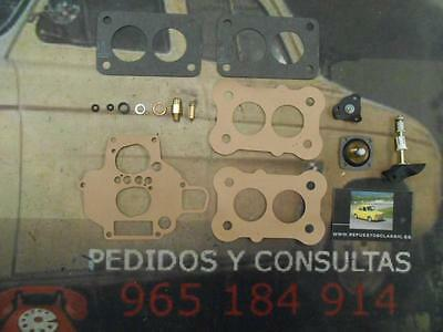 57 Super Kit Reparacion Carburador Weber 32 Dft Ford Fiesta / Escort 1.3, 1.6, S