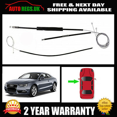 Audi A5 COUPE NSF Front Left Electric Window Regulator Repair Kit 2007 2015 NEW