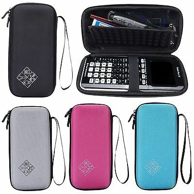 EVA Storage Carry Bag Case Pouch For Texas Instruments TI-84 Plus CE Calculator