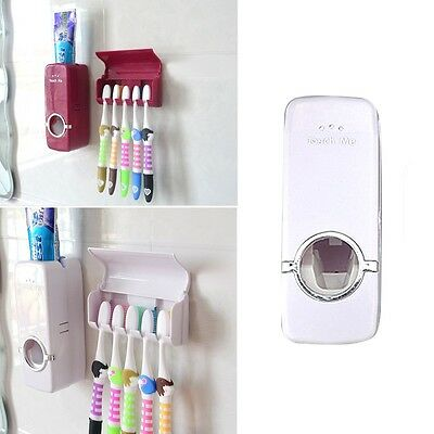 Popular Creative Toothbrush Holder Sets Automatic Toothpaste Dispenser