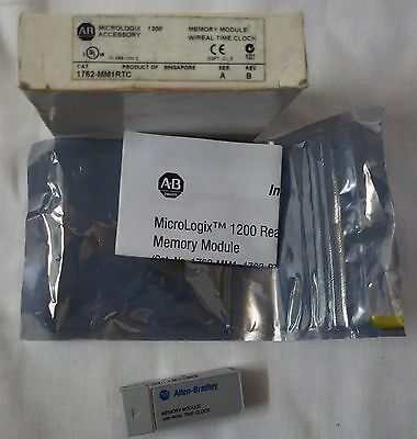 Allen Bradley 1762-MM1RTC MicroLogix 1200 Memory and Real-Time Clock Module, A