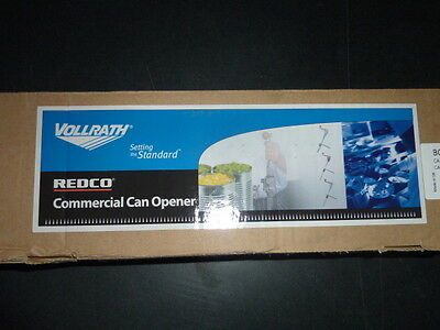"""NEW Vollrath CANMASTER CAN OPENER Manual 16"""" BAR LENGTH S/S Base Plate  BCO-4"""