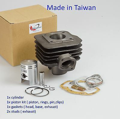 50cc cylinder kit for Kymco Fever ZX 50 2 stroke scooter moped rebuild
