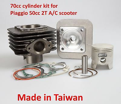 Top end kit 70cc for Gilera Typhoon 50cc 2T Piaggio 2T 50cc Typhoon scooter