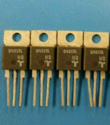 (4 PCS) D4015L TECCOR Diode Switching 400V 9.5A 3-Pin(3+Tab) TO-220AB Isolated