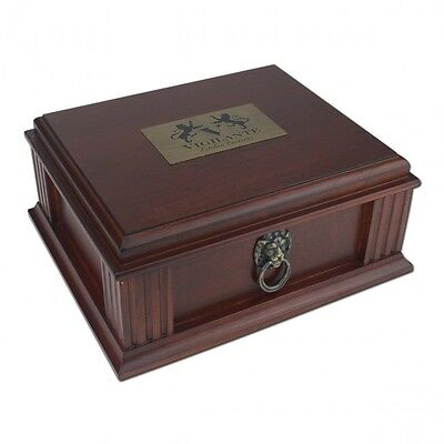 *New in Box*  20Ct. Elegant Cigar Travel Humidor by Quality Importers