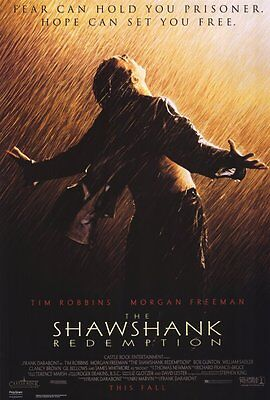 "THE SHAWSHANK REDEMPTION Movie Poster [Licensed-NEW-USA] 27x40"" Theater Size"